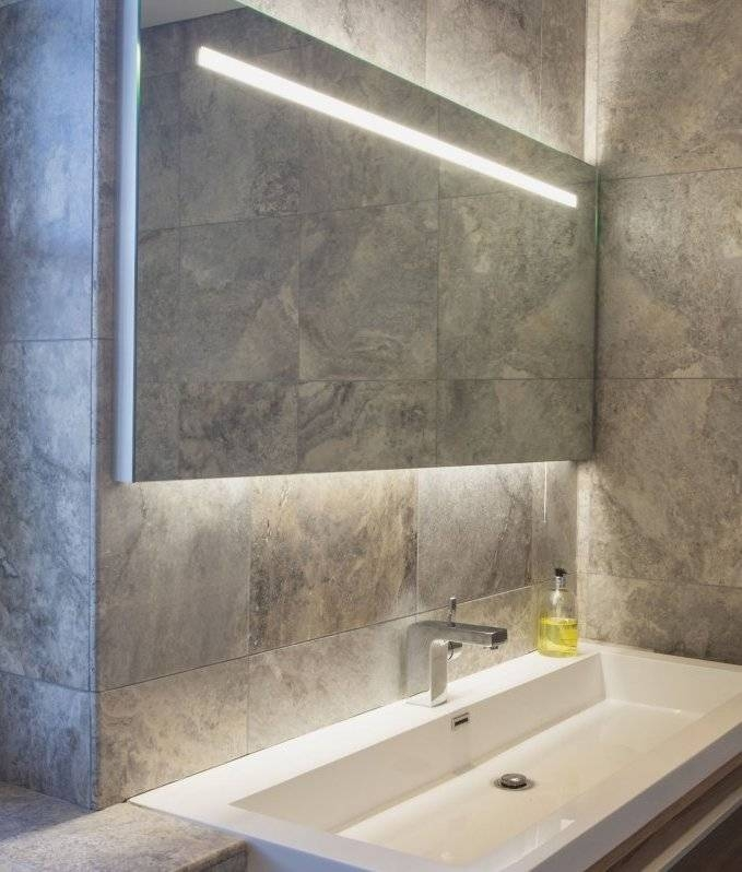 Lighted Bathroom Mirror For Your Bathroom Best Performance With Regard To Large Illuminated Mirrors (#22 of 30)
