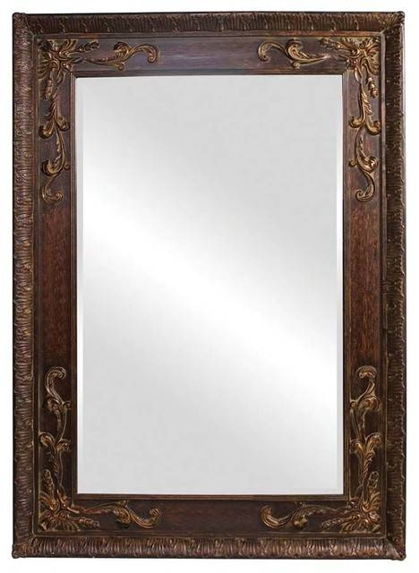 "Lila Antique Copper Mirror 60""x84""x3"" – Victorian – Floor Mirrors Throughout Victorian Floor Mirrors (#18 of 30)"