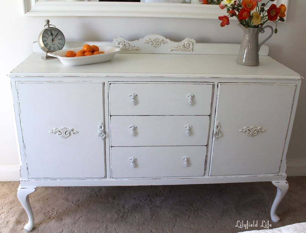 Lilyfield Life: Oh So Pretty White Sideboard With Regard To French Style Sideboards (View 14 of 20)