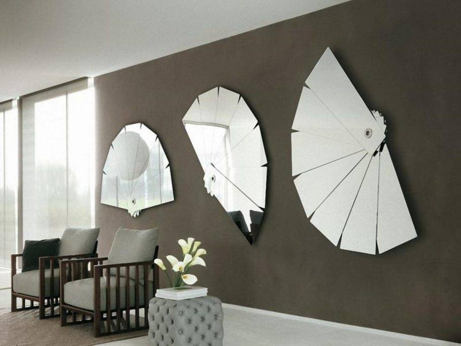 Living Room : Unique Wall Mirrors For Living Room With Bubble In Unique Mirrors (#13 of 20)