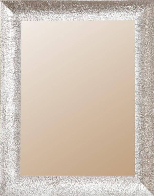 London Collection, Mirrors With Silver Or White Glitter Finish Throughout Glitter Frame Mirrors (#15 of 20)