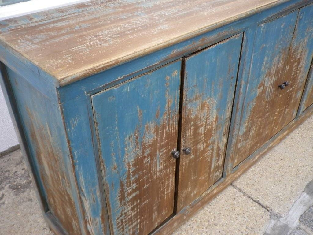 Long And Narrow Rustic Sideboard At 1Stdibs Inside Long Narrow Sideboard (#9 of 20)