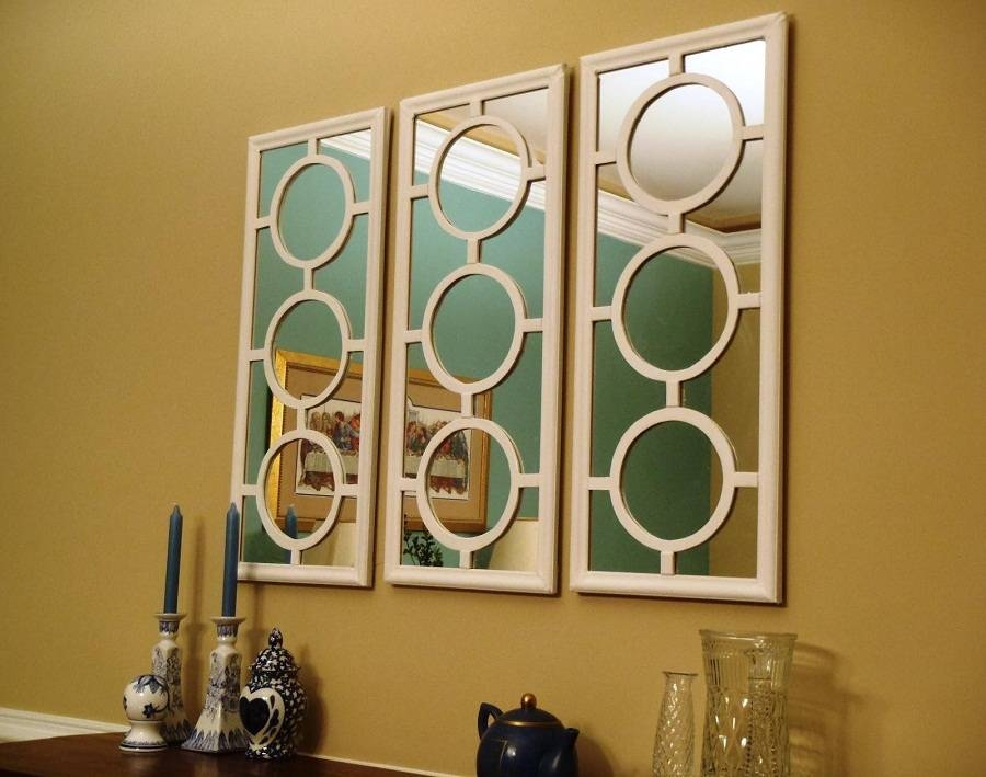 Long Decorative Wall Mirrors For Living Room : Perfect Decorative Within Long Decorative Mirrors (View 12 of 30)