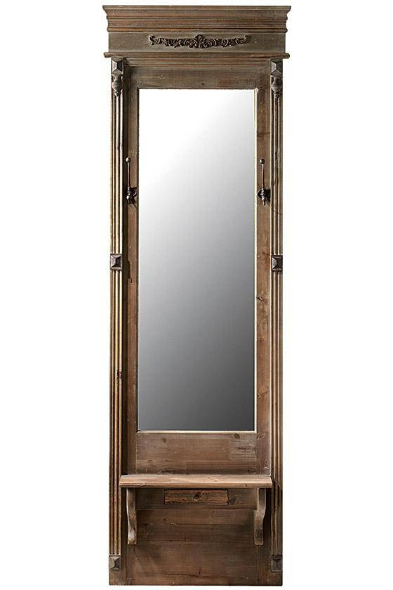 Long Mirror For Bedroom – Via Misswallflower Shining Project On In Long Mirrors (#21 of 30)