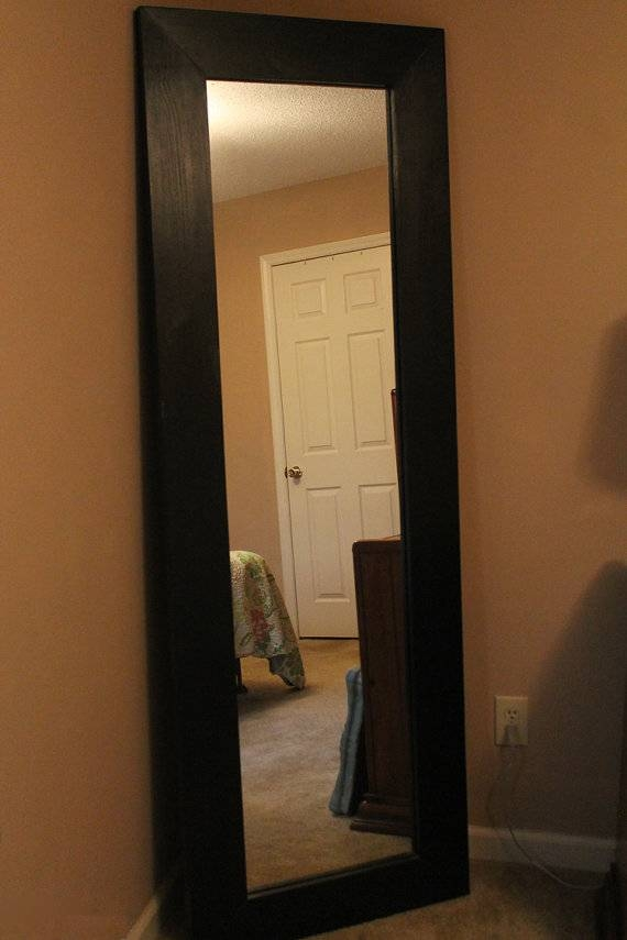 Long Mirrors For Bedroom Intended For Long Black Wall Mirrors (#21 of 30)