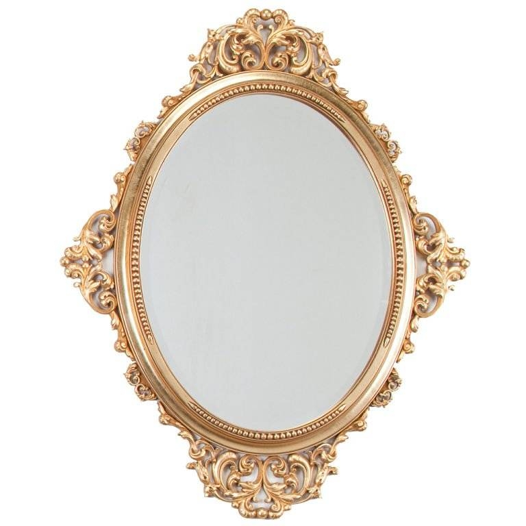 Louis Xv Style Rococo Mirror At 1Stdibs Pertaining To Rococo Style Mirrors (#15 of 30)