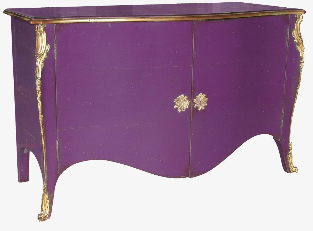 Louis Xv Style Sideboard / Wooden – 696 – Moissonnier Intended For Purple Sideboard (#10 of 20)