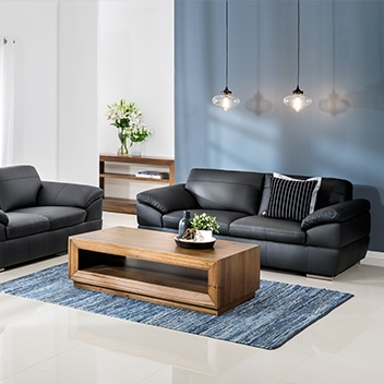 Lounges Sofas Couches Super Amart Regarding Leather Lounge Sofas (#10 of 15)