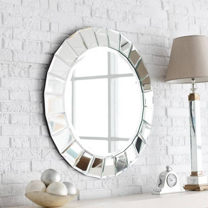 Lovely Mirrors For A Sleek Look – In Decors Regarding Modern Mirrors (#12 of 20)