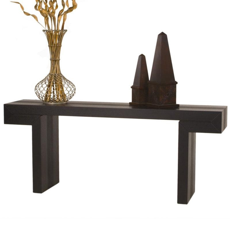 Low Profile Rectangle Console Table Console Sofa Tables Intended For Low Sofa Tables (#6 of 15)