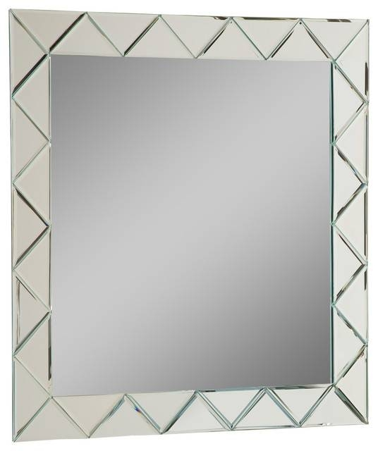Luciano Frameless Wall Mirror – Modern – Wall Mirrors  Decor Inside Frameless Wall Mirrors (#20 of 30)
