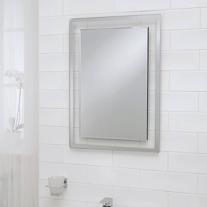 Luxor Bevelled Edge Mirror 700(H) 500(W) For Bevelled Edge Mirrors (#14 of 20)