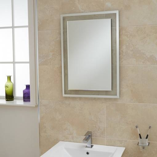 Superior Inspiration About Luxor Bevelled Edge Mirror 700(H) 500(W) Inside Bevelled