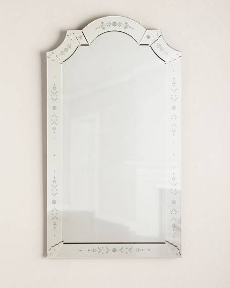 Mabel Venetian Style Wall Mirror With Venetian Style Mirrors (#13 of 30)