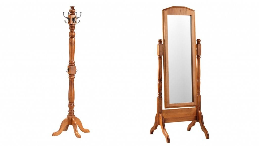 Macedon Cheval Mirror & Hat Stand – Furniture House Group In Full Length Cheval Mirrors (View 18 of 20)
