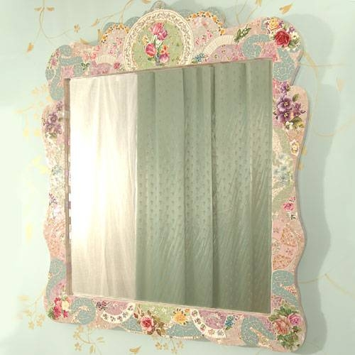 Madison Large Mosaic Mirror And Artwork In Decor : Decorative With Regard To Large Mosaic Mirrors (#18 of 30)