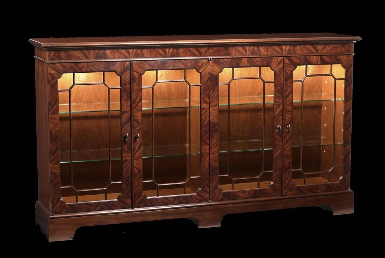 Mahogany Sideboard Display Cabinet (View 13 of 20)