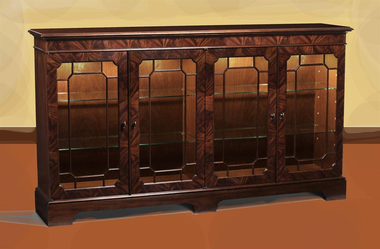 Mahogany Sideboard Display Cabinet (#7 of 20)