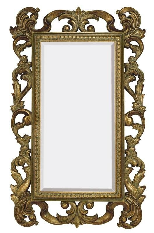 Majestic Mirror Large Rectangular Traditional Antique Bronze For Large Bronze Mirrors (View 4 of 30)