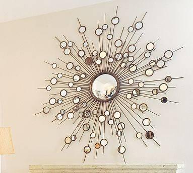 Make A Starburst Mirror – Dollar Store Crafts With Bronze Starburst Mirrors (View 4 of 20)