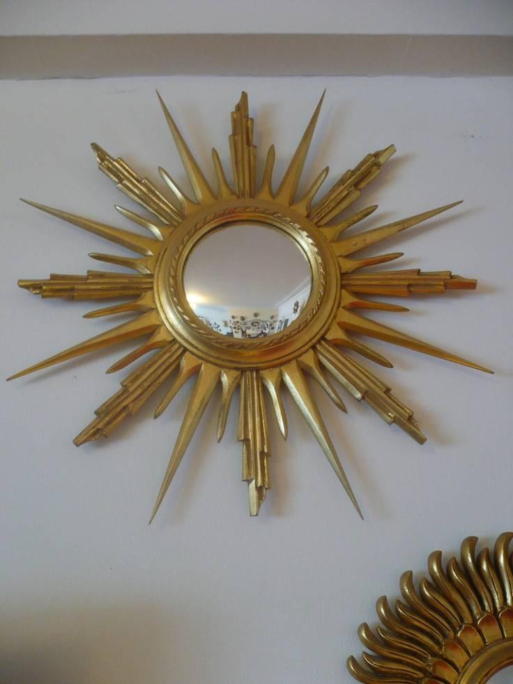 Make A Vintage Starburst Mirror — Interior Home Design Regarding Bronze Starburst Mirrors (#16 of 20)