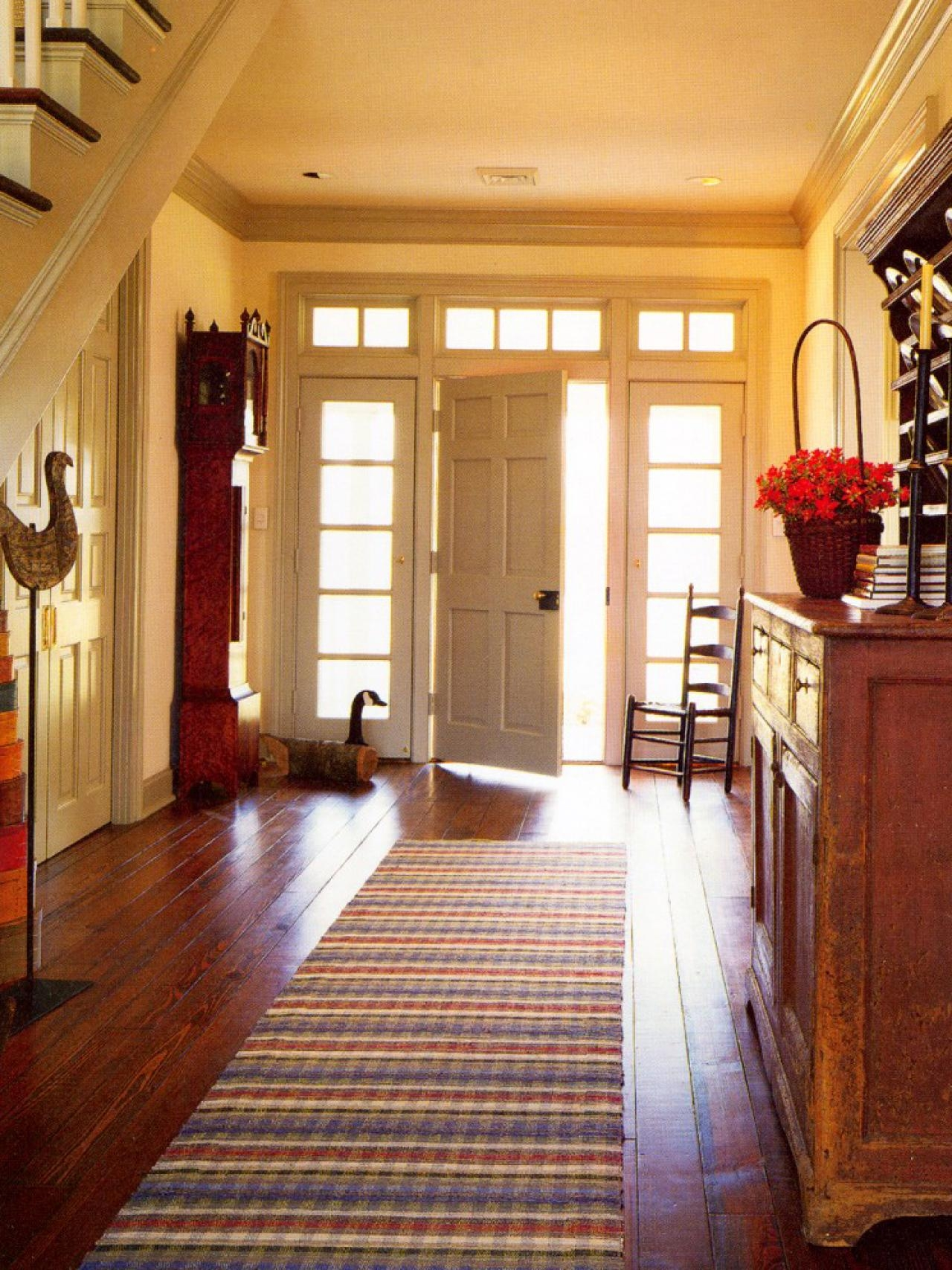 Make The Most Of Your Foyer Hgtv With Rug Runners For Entryways (#17 of 20)