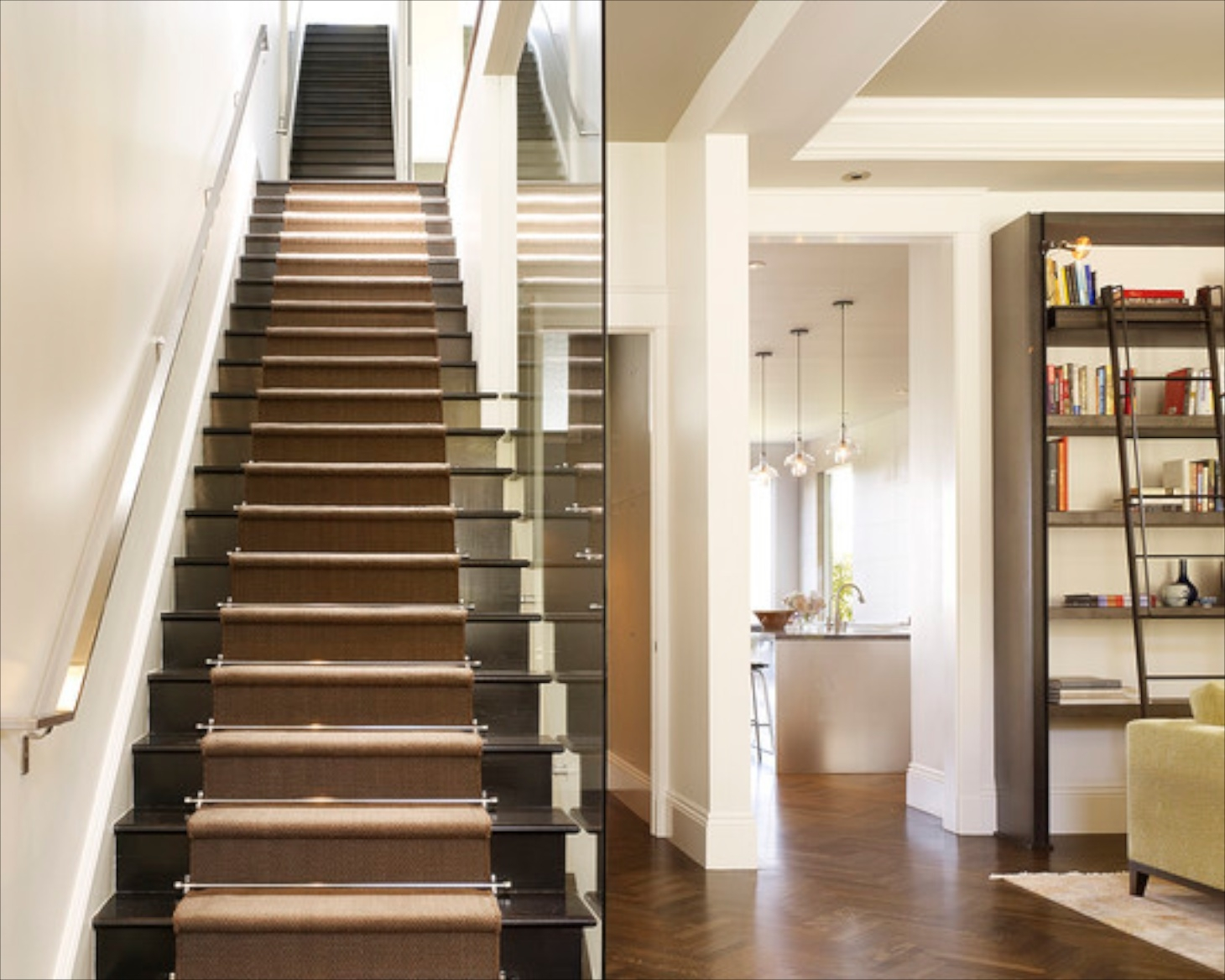 Making Stairs Safe Intended For Modern Stair Tread Rugs (#9 of 20)