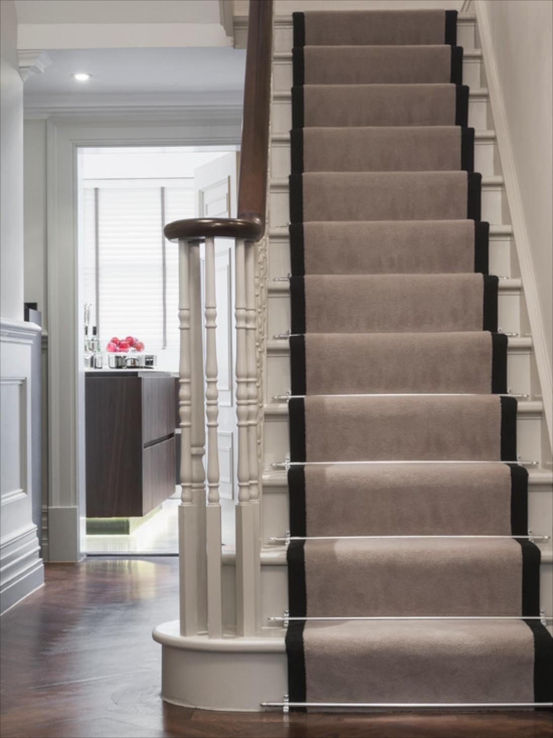 Popular Photo of Stair Tread Carpet Rods
