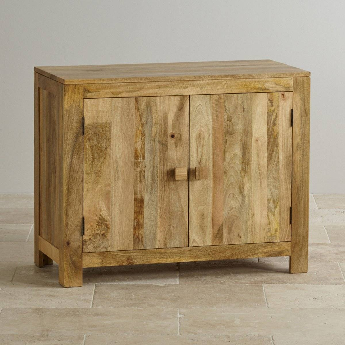 Mantis Light Small Sideboard In Natural Mango   Oak Furniture Land With Regard To Light Oak Sideboards (View 9 of 20)