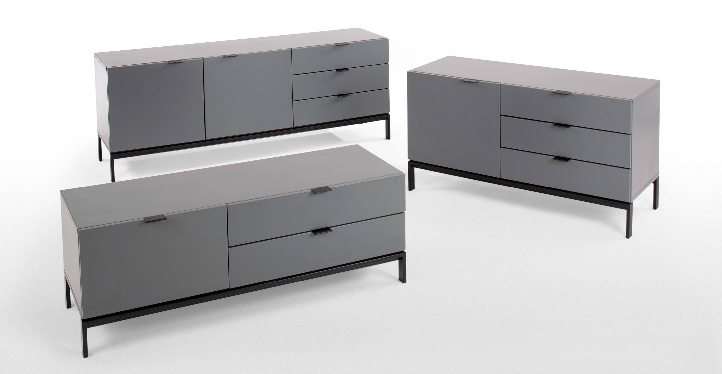 Marcell Sideboard, Grey | Made For Grey Sideboard (#12 of 20)