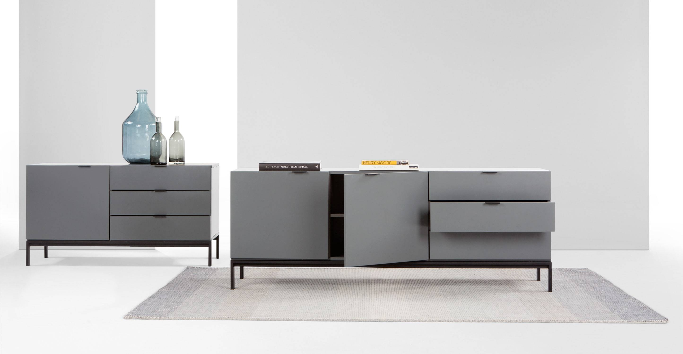 Marcell Sideboard, Grey | Made Throughout Grey Sideboard (#14 of 20)