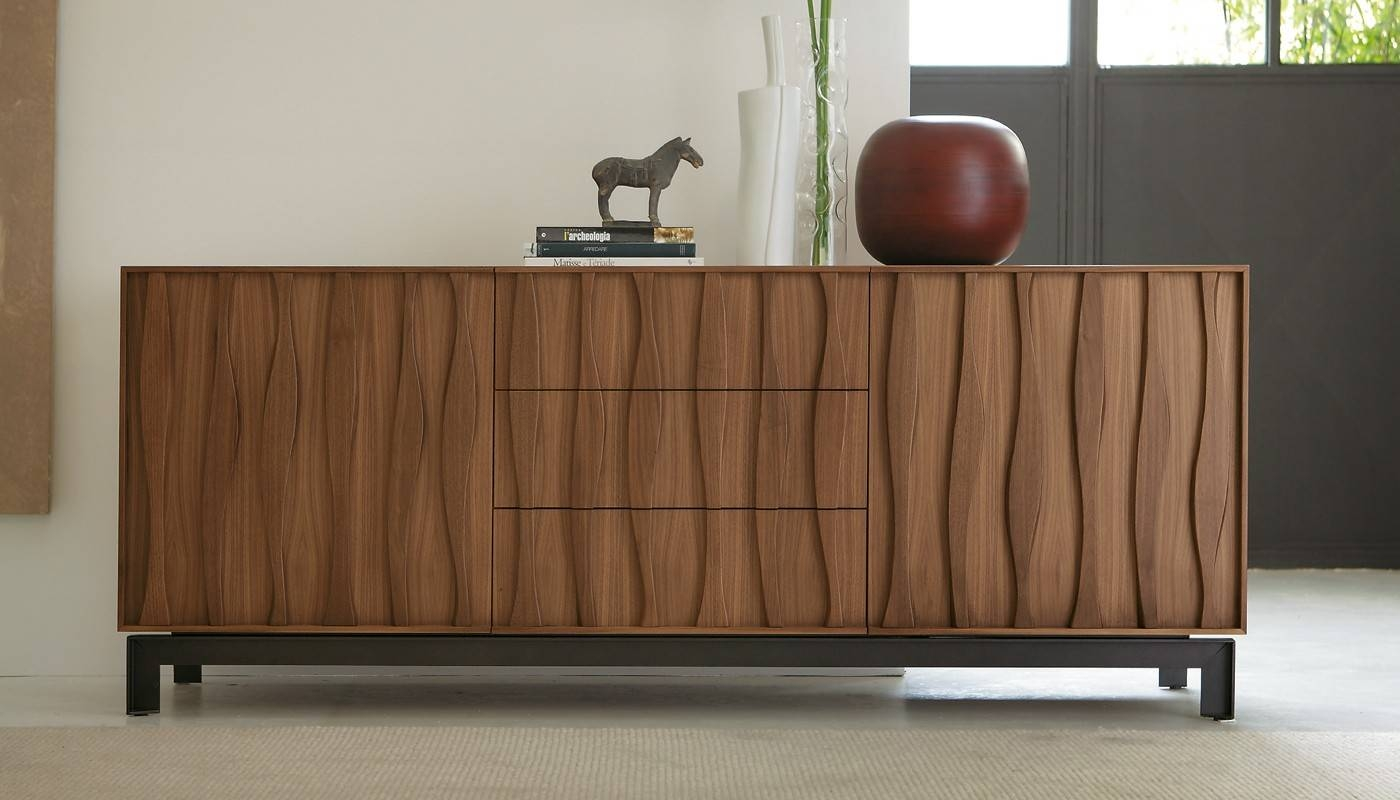 Masai Sideboard Walnut – Sideboards – Storage – Living Room With Ready Made Sideboards (#15 of 20)