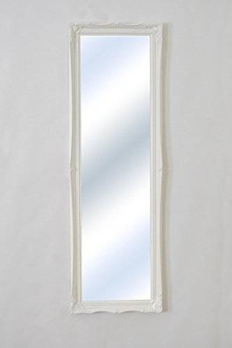 Matt White Full Length Shabby Chic Antique Style Rectangular In Shabby Chic Full Length Mirrors (#18 of 20)