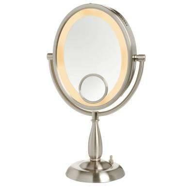 Medium – Free Standing Mirrors – Bathroom Mirrors – The Home Depot Within Small Free Standing Mirrors (#15 of 20)