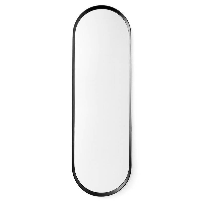Menu Norm Oval Wall Mirror & Reviews | Wayfair Regarding Black Oval Wall Mirrors (View 12 of 20)