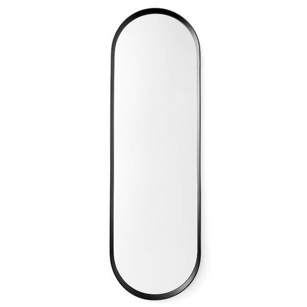 Menu Norm Oval Wall Mirror & Reviews | Wayfair Within White Oval Wall Mirrors (#16 of 30)