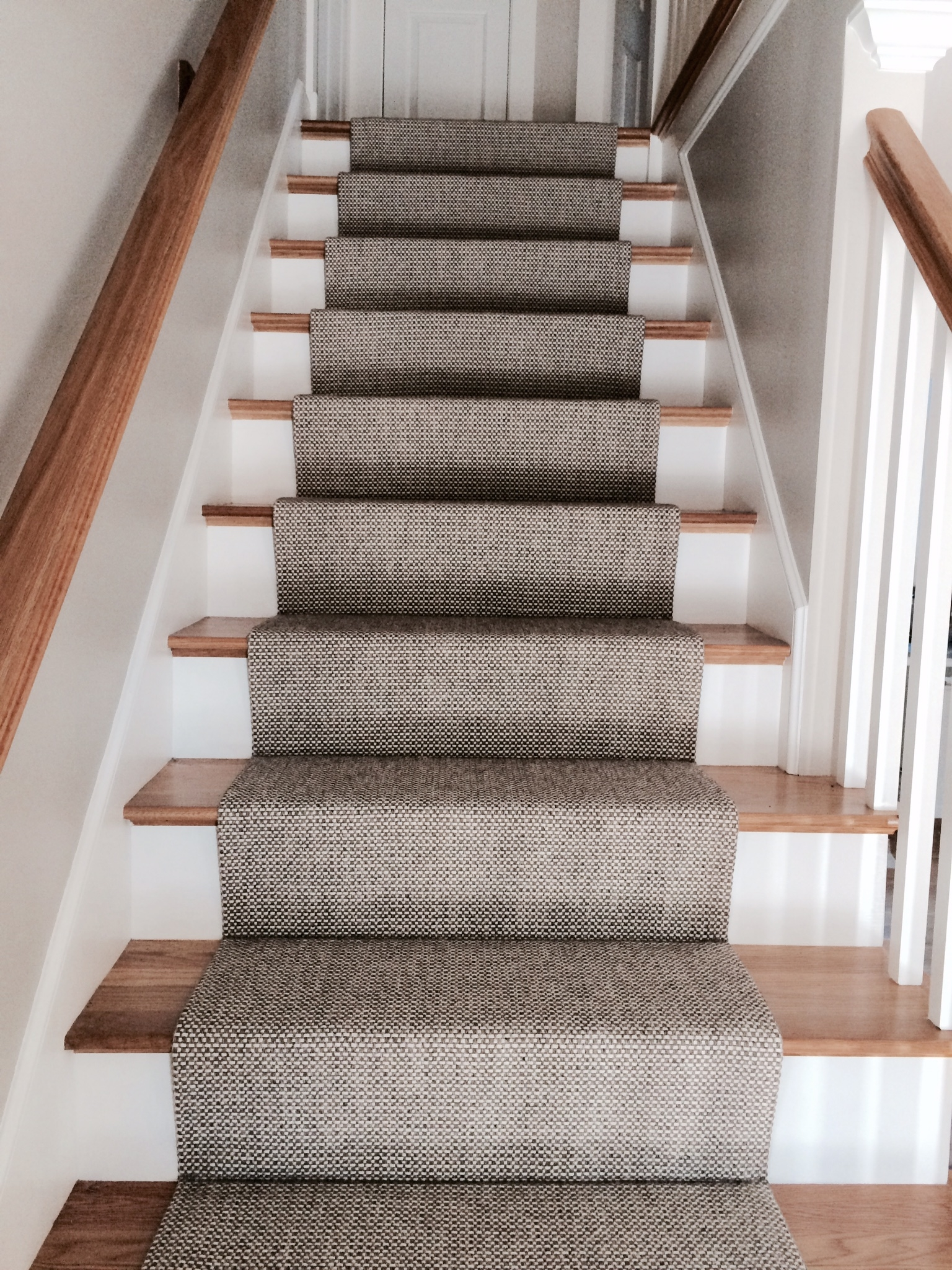 Inspiration about Merida Flat Woven Wool Stair Runner The Carpet Workroom The Intended For Rug Runners For Stairs (#4 of 20)