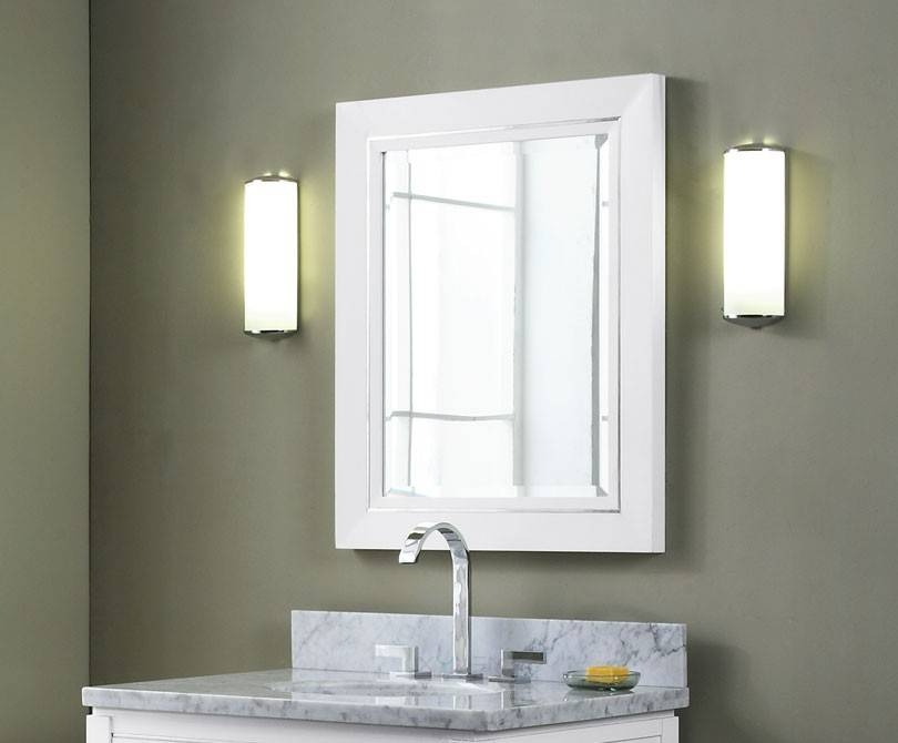 Mesmerizing White Bathroom Mirrors Regarding Contemporary White Mirrors (#10 of 15)