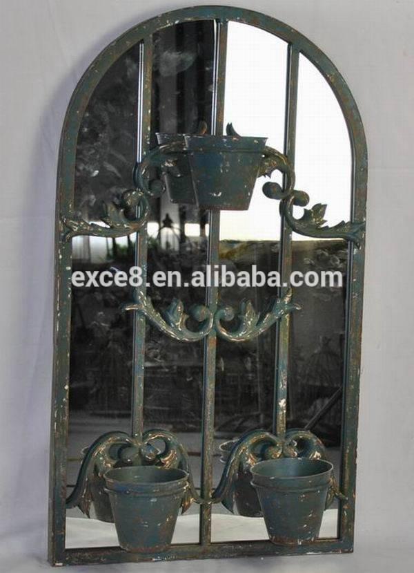 Metal Flowers Wall Art Mirror, Metal Flowers Wall Art Mirror Inside Metal Garden Mirrors (#20 of 30)