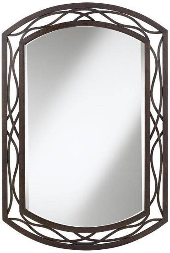 Metal Frame Wall Mirror, Metal Wall Mirror Silver Mirrors For Wall In Iron Framed Mirrors (#11 of 20)