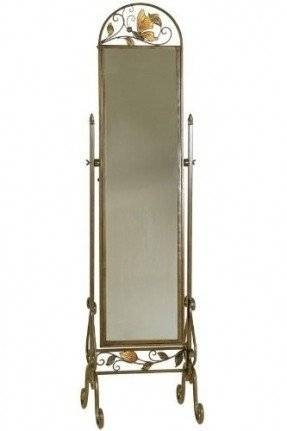 Metal Full Length Mirror – Foter Intended For Wrought Iron Full Length Mirrors (#15 of 20)