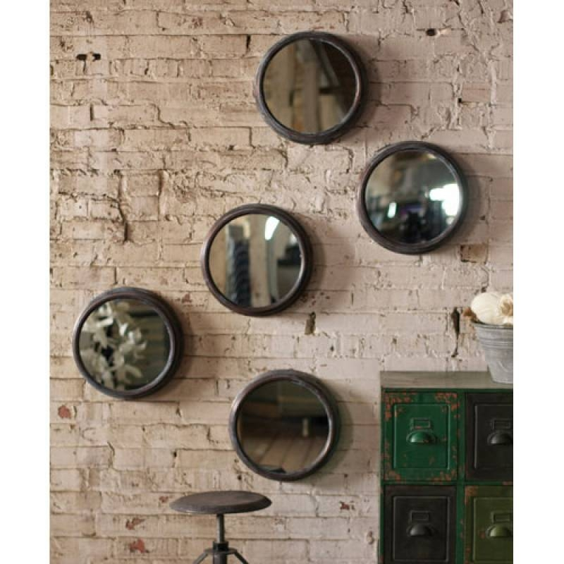 Metal Vintage Style Porthole Mirror | A Cottage In The City Throughout Round Porthole Mirrors (#10 of 30)