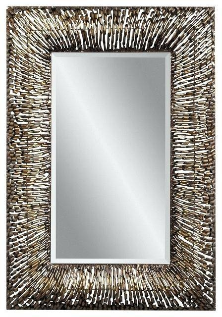 Metal Wall Mirror – Shopwiz Intended For Large Metal Mirrors (#27 of 30)