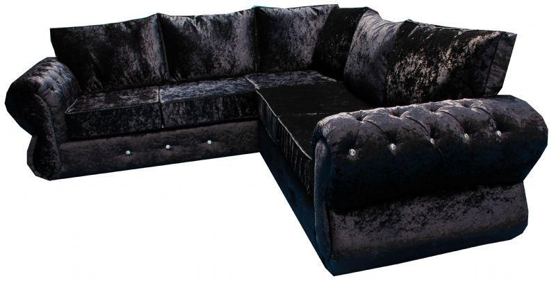 Metro Sofa Ltd Furniture Maker In Heywood Uk Inside Black Velvet Sofas (#11 of 15)