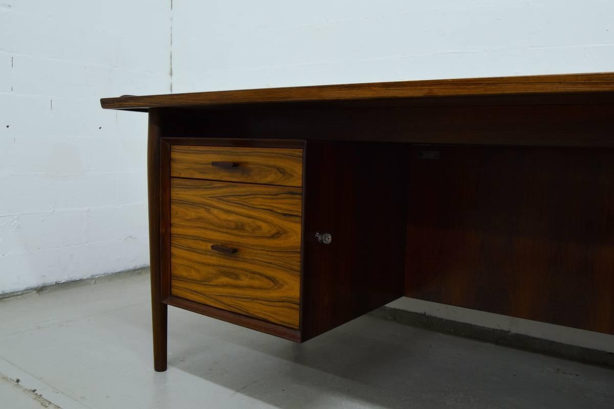 Mid Century Executive Desk & Sideboardarne Vodder For Sibast Throughout Desk Sideboard (#12 of 20)