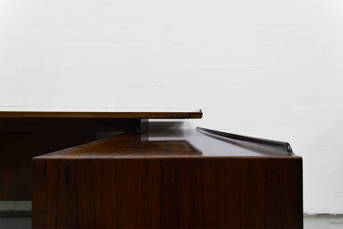 Mid Century Executive Desk & Sideboardarne Vodder For Sibast With Desk Sideboard (#13 of 20)