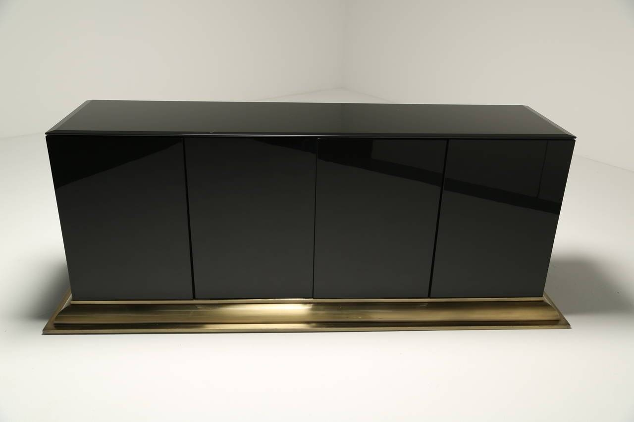 Mid Century Sideboardello For Sale At 1Stdibs Intended For Glass Sideboard (View 20 of 20)