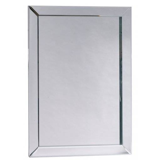 Milano Bevelled Wall Mirror Inside Bevelled Wall Mirrors (#11 of 20)