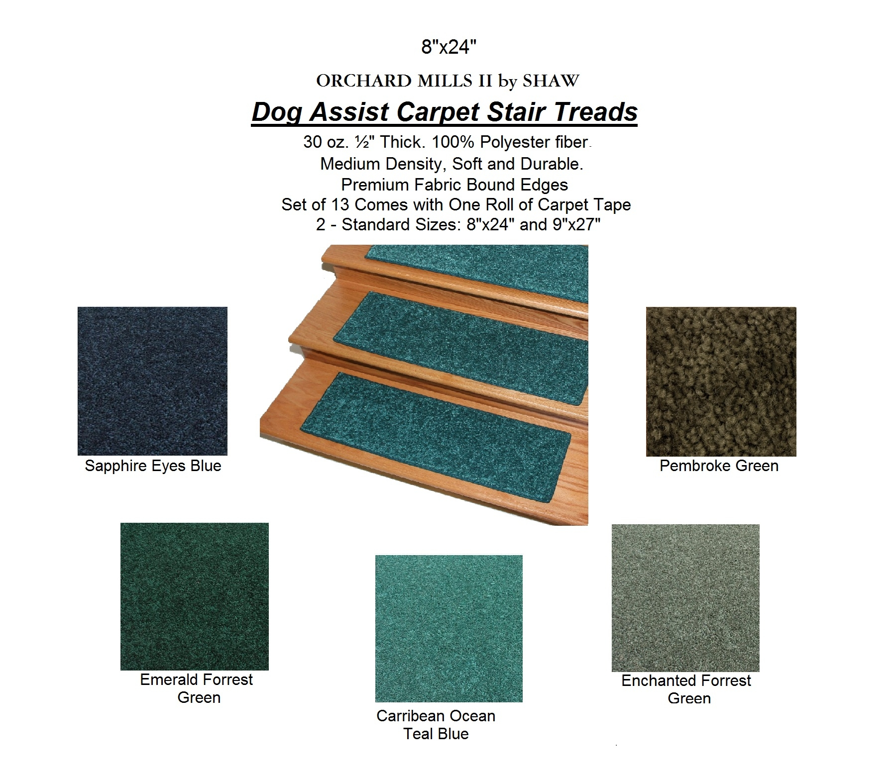 Inspiration About Mills Bi Dog Assist Carpet Stair Treads With Regard To Fabric  Stair Treads (