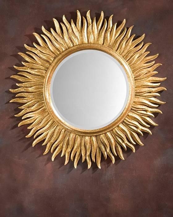 Mirror And Sunburst Mirror With Regard To Gold Round Mirrors (View 9 of 20)